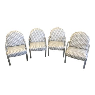 1970s Vintage Pace Lucite Chairs - Set of 4 For Sale