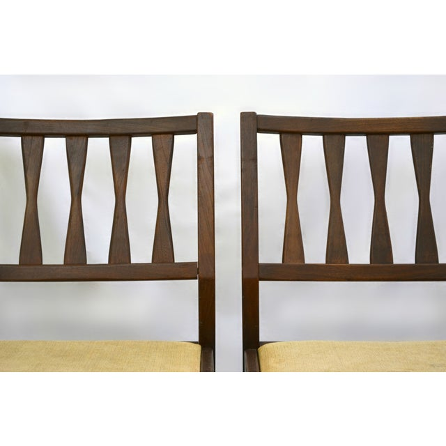 Holman Danish Modern Dining Room Chairs - Pair - Image 7 of 8