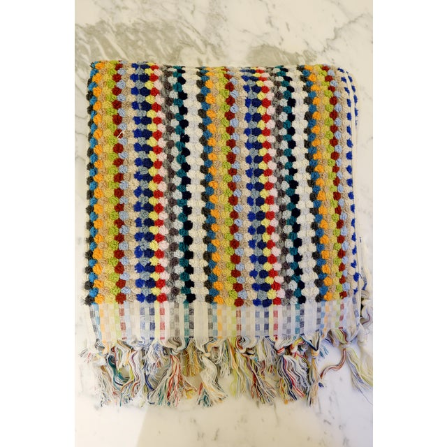 Turkish Hand Made Towel With Natural/Organic Cotton and Fast Drying,16x40 Inches For Sale In New York - Image 6 of 6