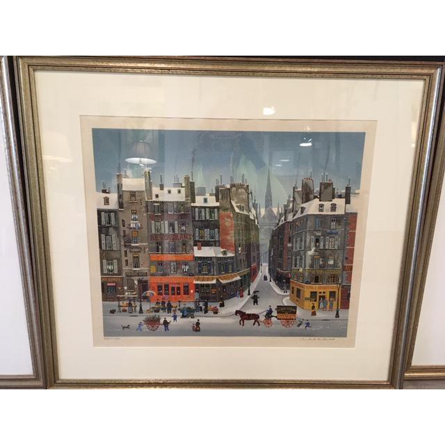 1970s Michel Delacroix Lithograph For Sale - Image 5 of 5