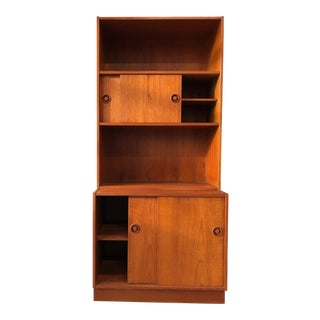 Mid-Century Modern Danish Teak Cabinets and Book Cases- Set of 4