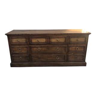 American of Martinsville Chinoiserie Dresser