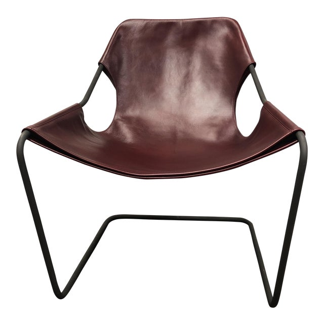 Paulo Mendes Da Rocha Paulistano Leather Armchair | Chairish