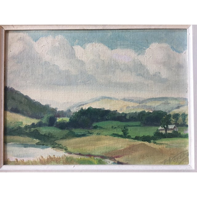 Mid-Century American Impressionist Painting For Sale - Image 5 of 7