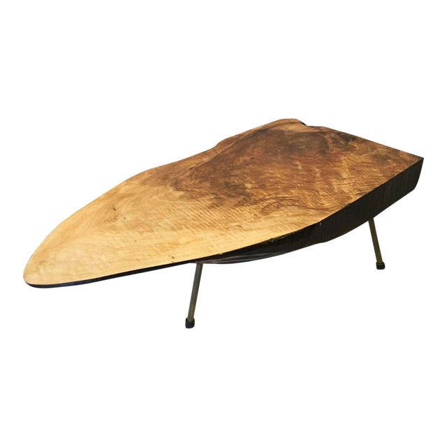 Big Tree Table by Carl Aubock, 1950s For Sale