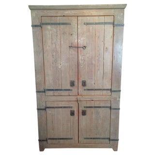 Brighams All Wood Armoire For Sale
