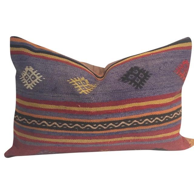 Vintage Kilim Lumbar Pillow - Image 1 of 3
