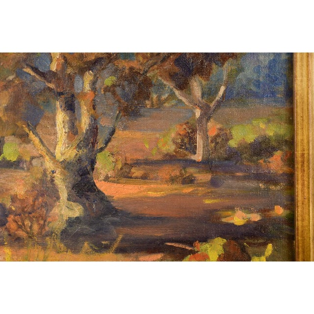 Impressionist Horatio Nelson Poole Large California Landscape Oil Painting For Sale - Image 5 of 10