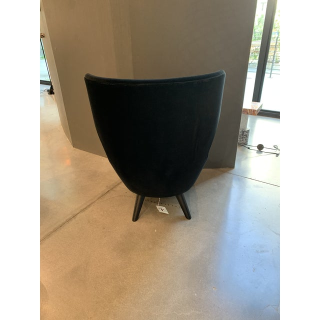2010s Tom Dixon Micro Wingback Chair For Sale - Image 5 of 11