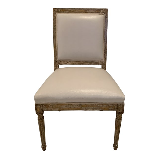 Nancy Corzine French Side Chair For Sale