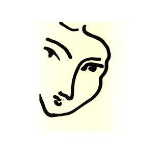 Henri Matisse, Nadia Au Menton Pointu, Offset Lithograph For Sale