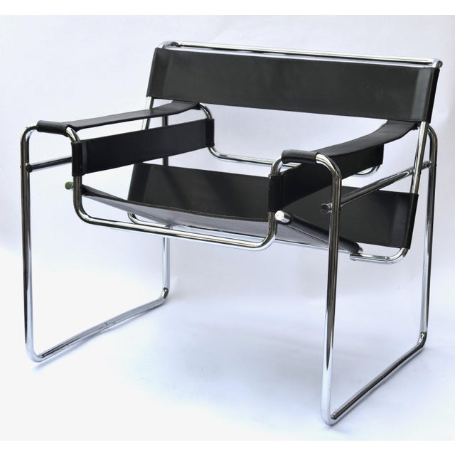 Marcel Breuer 1970s Marcel Breuer Wassily Chair by Knoll For Sale - Image 4 of 12