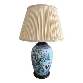 Antique Asian Lamp Vase For Sale