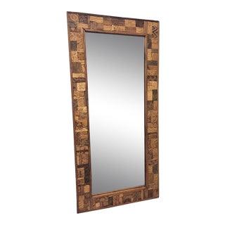 Roost Jaipur Print Block Mirror