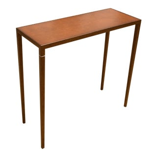 Jean-Michel Frank Style Console Table For Sale