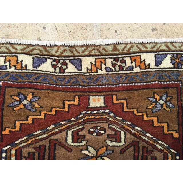 Thick and Heavy and Hearty Persian Kourdish Rug - 3′5″ × 6′5″ - Image 7 of 9