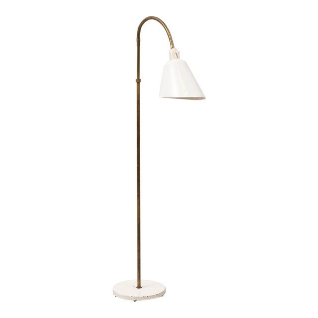 Arne Jacobsen Early Floor Lamp for Louis Poulsen, Denmark, 1929 For Sale