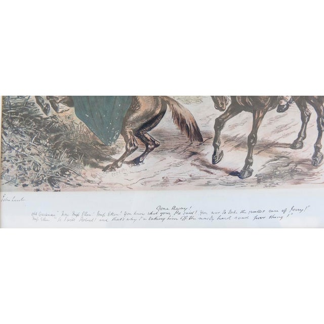 'Gone Away' Fox Hunting Etching - Image 6 of 6
