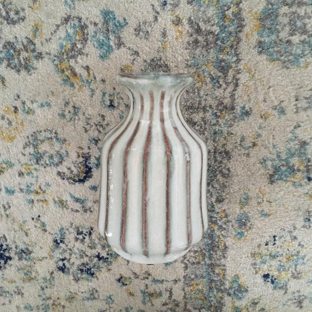 Mid-Century Modern Glazed Pottery Vase - Image 2 of 11