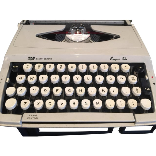 Smith Corona Cougar XL Typewriter - Image 1 of 4