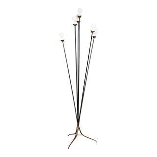 1950s Italian Floor Lamp For Sale