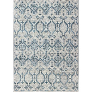 Geometric Indian Rug-8'11 X 12'1 For Sale