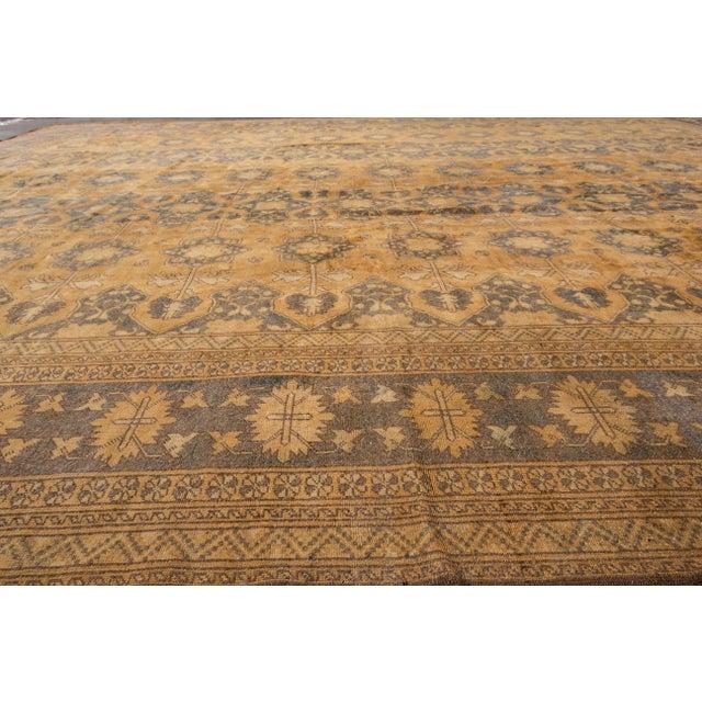 "Apadana - Vintage Afghan Rug, 13'1"" x 16'7"" For Sale In New York - Image 6 of 7"