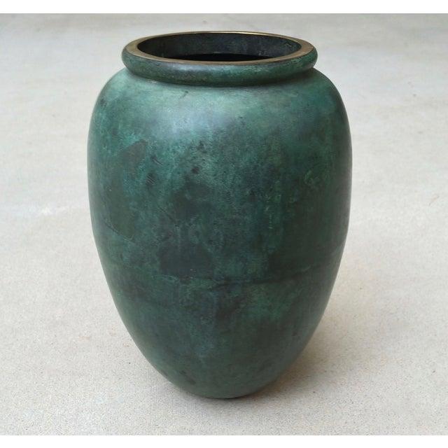 Vintage Bronze Vase - Image 2 of 6