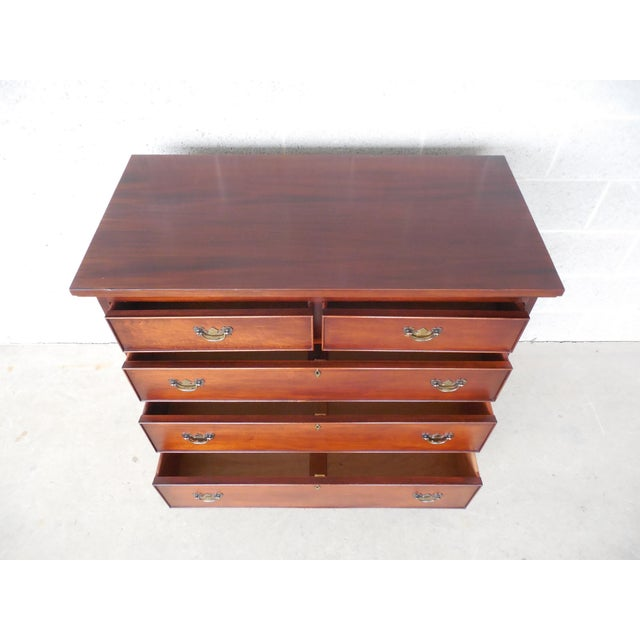 Craftique Chippendale Style Mahogany Dresser - Image 8 of 11