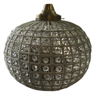 Vintage Spherical Chandelier