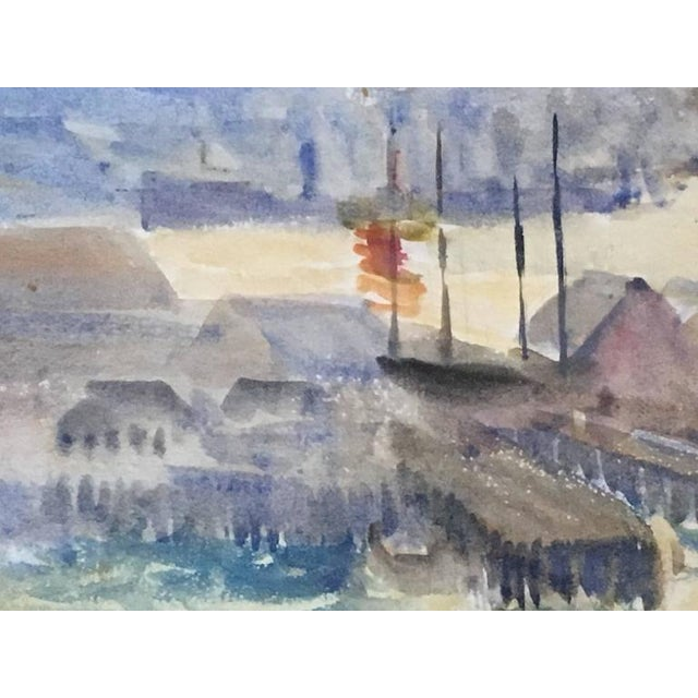 Hayley Lever Signed Watercolor Painting - Image 4 of 6