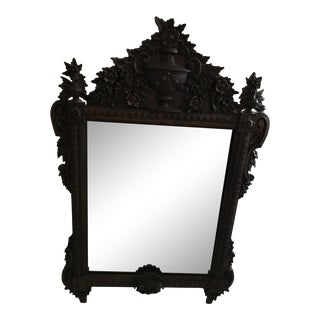 LaBarge Italian Carved Wall Mirror For Sale