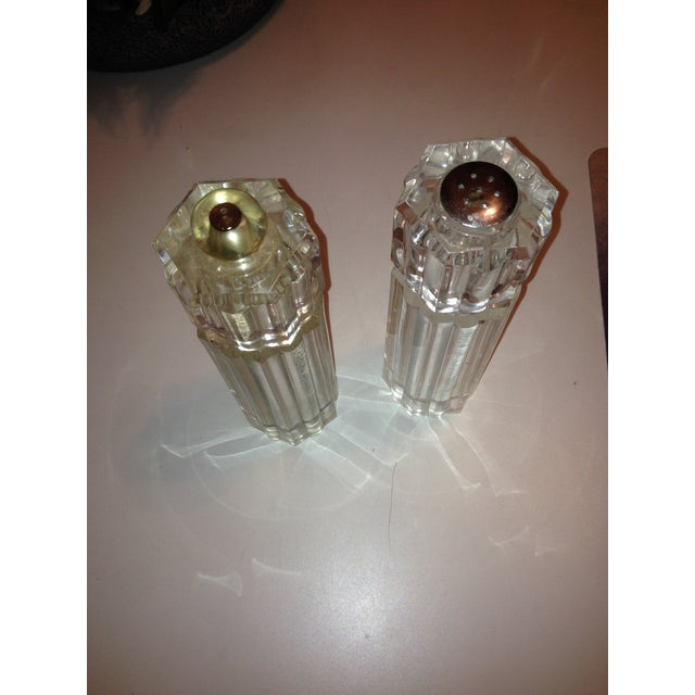 Lucite Vintage Salt and Pepper Mills - Image 3 of 3