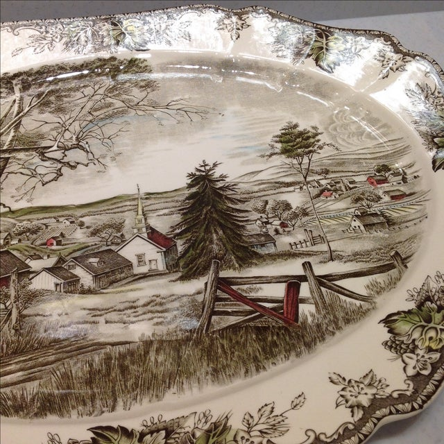 English Platters by Johnson Bros - Set of 2 - Image 7 of 10