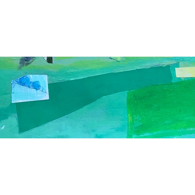 Contemporary Contemporary Mixed Media Landscape For Sale - Image 3 of 4