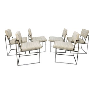Set of Six Milo Baughman for Thayer Coggin Dining Chairs, Circa 1960s For Sale