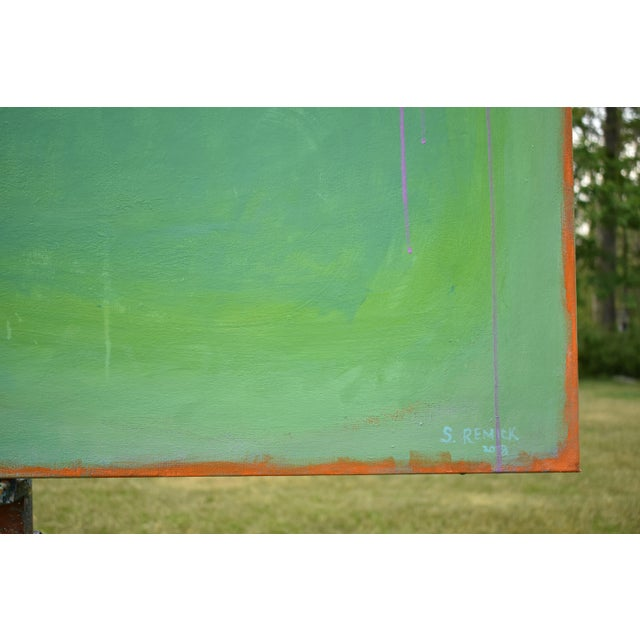 """Contemporary Abstract Painting """"Weeping Cherry"""" by Stephen Remick For Sale In Providence - Image 6 of 13"""