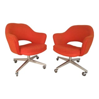 Eero Saarinen for Knoll Office Chairs - A Pair