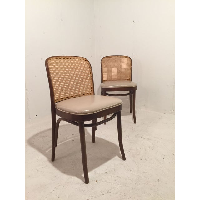 Josef Hoffmann for Thonet Chairs - A Pair - Image 2 of 4