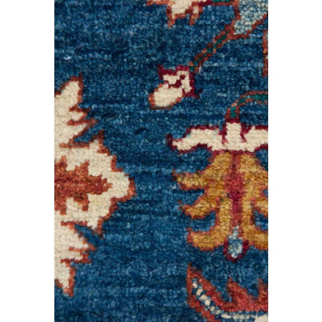 """Traditional Hand Knotted Area Rug - 6'1"""" X 9'2"""" - Image 4 of 4"""