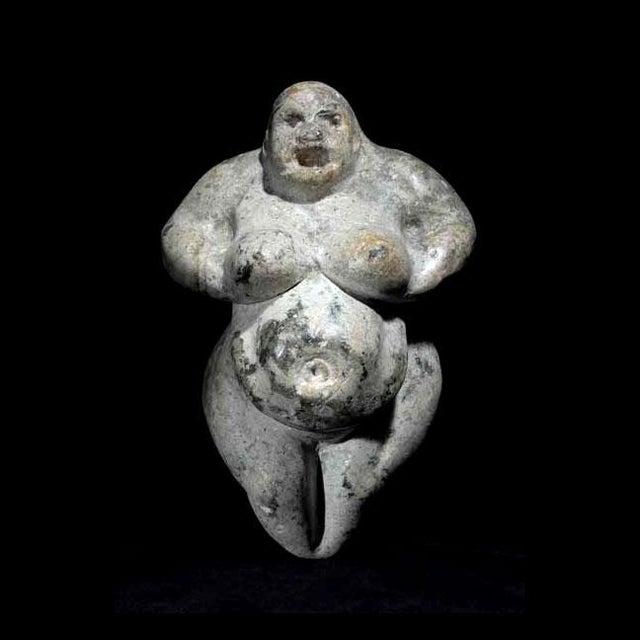 Neolithic Fertility Goddess For Sale - Image 4 of 4