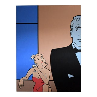 Pop Art Painting by Luc Verschuuren 2001 For Sale