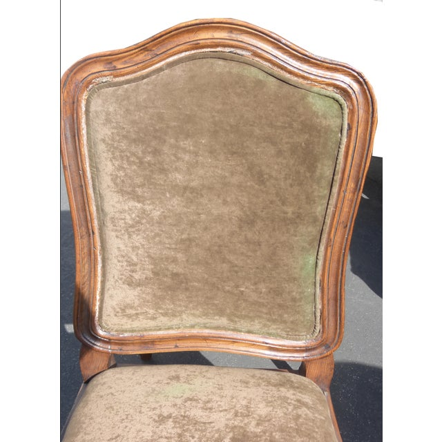 French Henredon Mohair Dining Chairs - Set of 6 - Image 11 of 11