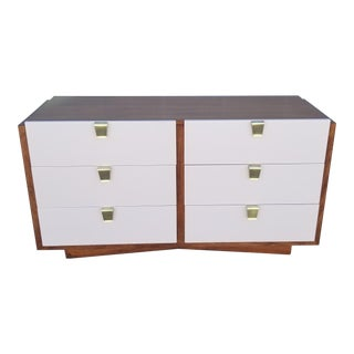 1950s Mid Century Modern Mahogany and Lacquer Dresser For Sale