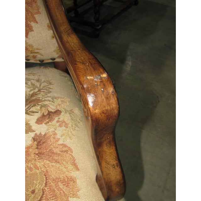 French Country Hooker Furniture Gerard Arm Chairs - Set of 4 For Sale In West Palm - Image 6 of 8