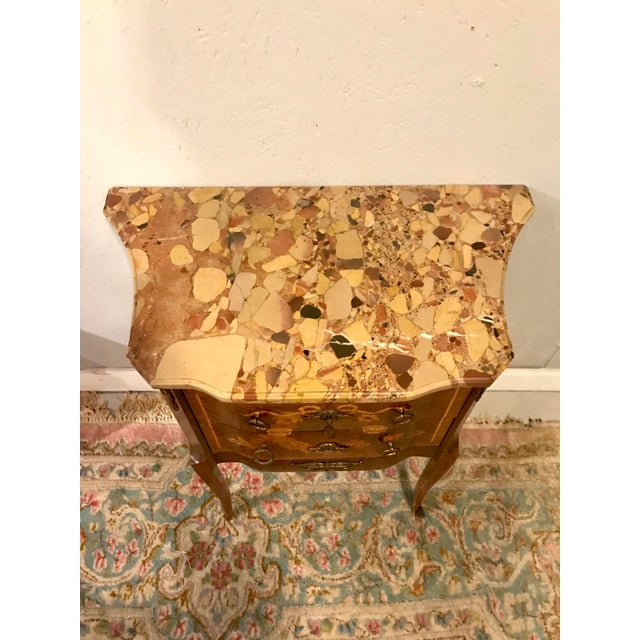 Louis XVI Style Side Table For Sale - Image 6 of 8