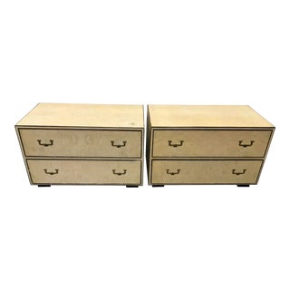 1960s Campaign John Widdicomb Commodes - a Pair For Sale
