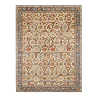 Pasargad 19th Century Tabriz Design Handmade Rug - 9' X 12' For Sale
