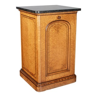 19th Century French Charles X Style Cabinet For Sale