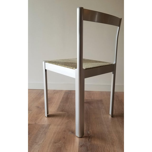Metal 1980s Hank Loewestein Italian Dining Table & Chairs For Sale - Image 7 of 13